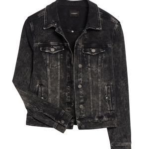 Liverpool XS Trenton Black Denim Stretch Jacket